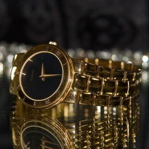 Gold Plated 80's Gucci Watch